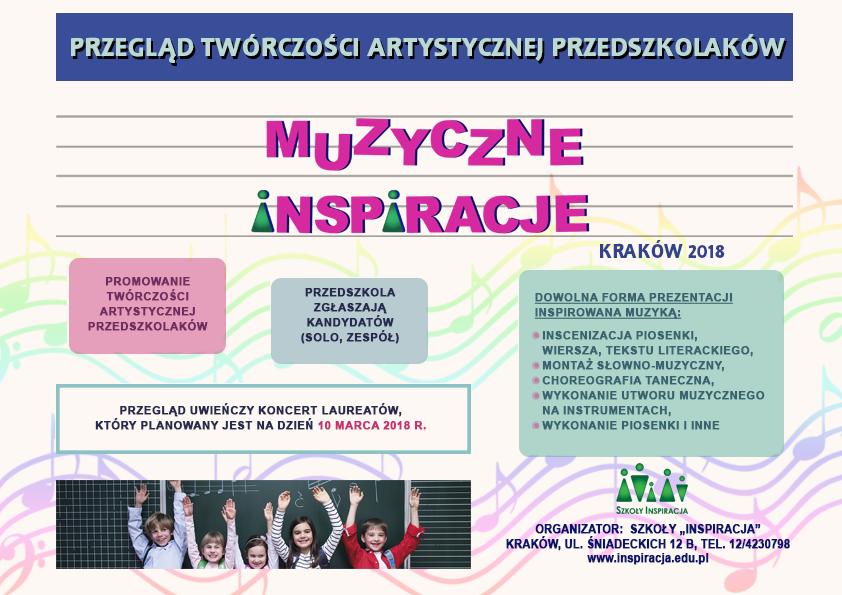 Przegląd Twórczości Artystycznej Przedszkolaków Szkoły